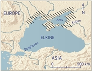 Euxine Pontus: North, reference map